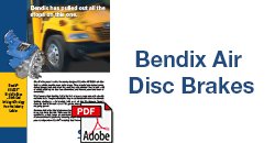 Bendix Air Disc Brakes