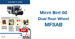 Micro Bird G5 Dual Rear Wheel MFSAB