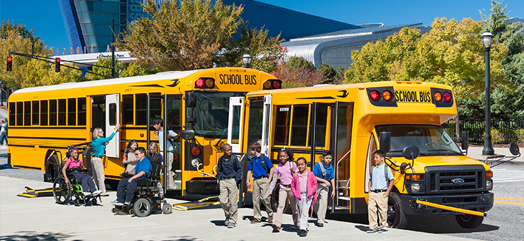 Blue Bird Special Needs Buses
